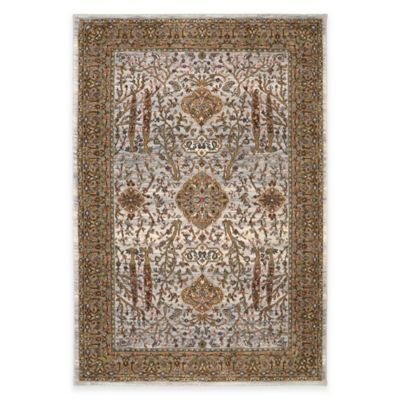 Karastan Spice Market Carthage 2-Foot 1-Inch x 7-Foot 10-Inch Runner in Cream