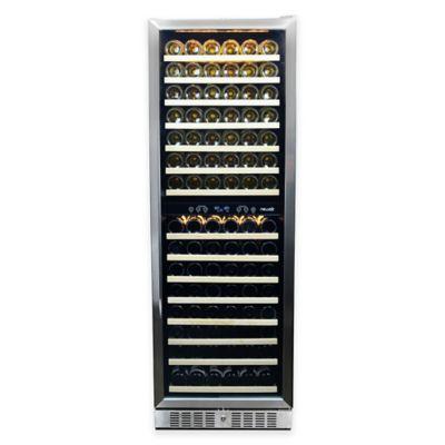 NewAir® Premier Gold Series 160 Bottle Wine Cooler in Stainless Steel/Black