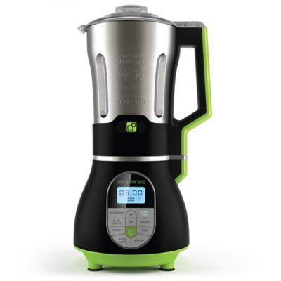 3 Squares 3BL-3000 Cooking 60 oz. Blender Soup Maker in Black/Stainless Steel