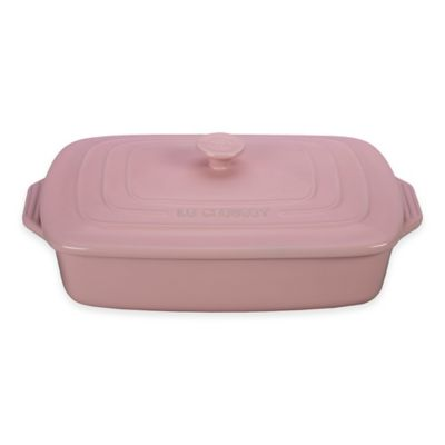 Le Creuset® 3.5 qt. Covered Rectangular Casserole in Flame