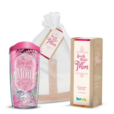 "Tervis® ""The Very Best Mom"" 16 oz. Wrap Tumbler Tea Bundle with Lid"
