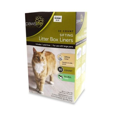 PawsLife™ 30-Count Sifting Liter Box Liners