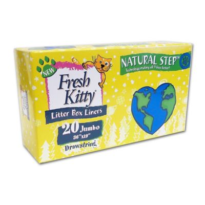 Fresh Kitty™ 20-Pack Drawstring Jumbo Litter Box Liners