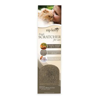 Zip Kitty™ Cat Scratcher Single in Brown