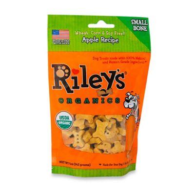 Riley's™ Organics 5 oz. Apple Recipe Small Bone Dog Treats