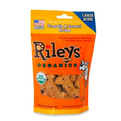 Riley's™ Organic 5 oz. Pumpkin and Coconut Recipe Large Bone Dog Treats