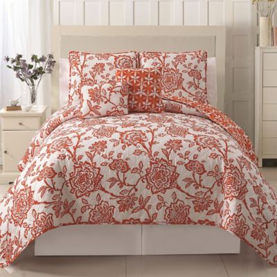 VCNY Jordin Reversible Full/Queen Quilt Set