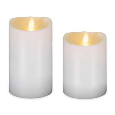 Luminara® 5-Inch Flameless Outdoor Candle in Ivory