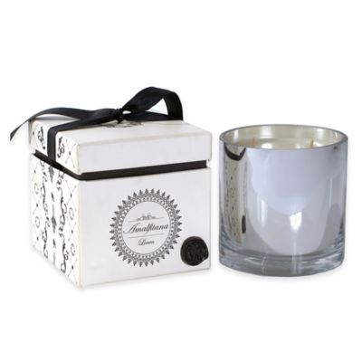 Rojo 16 Silver Luxury Amalfitana Linen Scented Candle