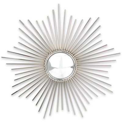 Glenna Jean Sunburst Nickel Mirror