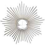 Sunburst Nickel Mirror by Glenna Jean
