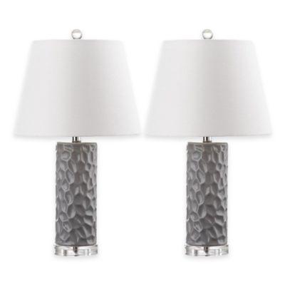 1-Light Black Table Lamp