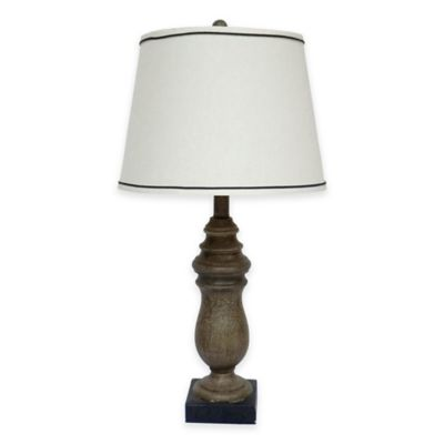 Beige with Hardback Shade Lamps