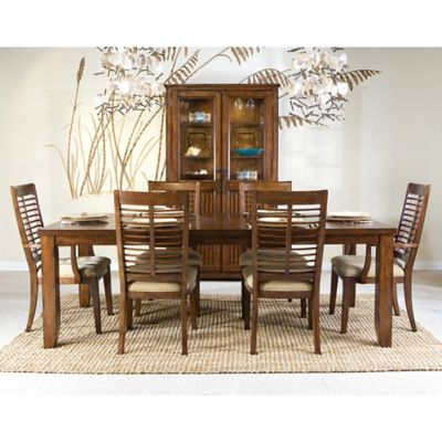 Panama Jack Eco Jack Rectangular Dining Table in Brown