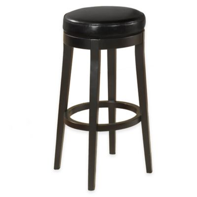 Spirit 30-Inch Backless Swivel Barstool in Brown