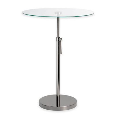 Kenroy Home Propel Accent Table in Black Nickel