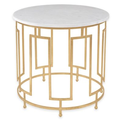 Safavieh Caldwell Accent Table in Gold