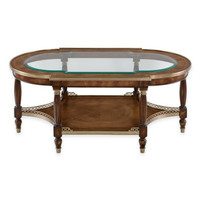Safavieh Hendrick Coffee Table in Mahogany