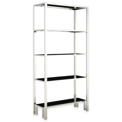 Verona Home Kaihill Wide Etagere in Chrome