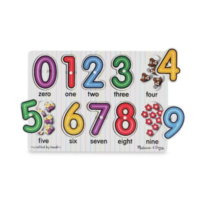 Melissa and Doug Number Puzzle