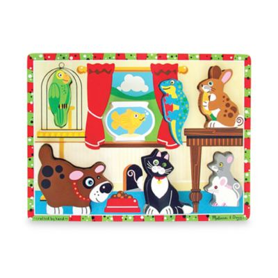 Melissa & Doug® Pets Chunky Puzzle