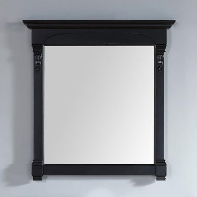 Black Brookfield Mirror