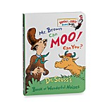 Mr. Brown Can Moo! Can You? by Dr. Seuss