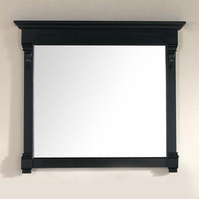 James Martin Furniture Brookfield 47.25-Inch Mirror in Antique Black