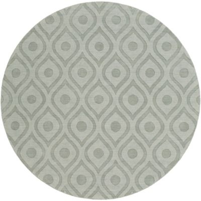 Artistic Weavers Central Park Zara 9-Foot 9-Inch Round Area Rug in Grey