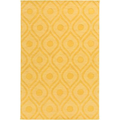 Artistic Weavers Central Park Zara 9-Foot x 12-Foot Area Rug in Yellow