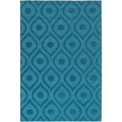 Artistic Weavers Central Park Zara 9-Foot x 12-Foot Area Rug in Teal