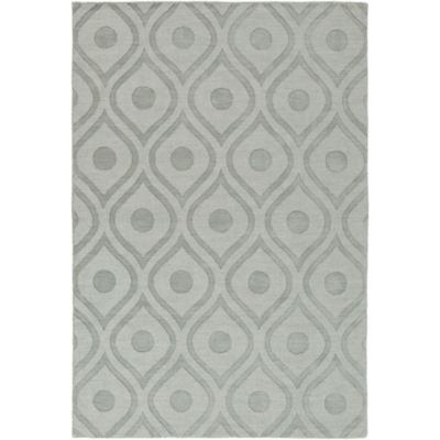Artistic Weavers Central Park Zara 9-Foot x 12-Foot Area Rug in Grey