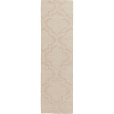 Artistic Weavers Central Park Kate 2-Foot 3-Inch x 8-Foot Runner in Beige