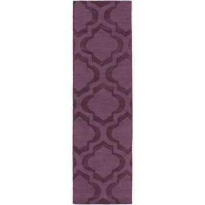 Artistic Weavers Central Park Kate 2-Foot 3-Inch x 12-Foot Runner in Purple