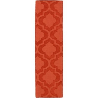 Artistic Weavers Central Park Kate 2-Foot 3-inch x 14-Foot Runner in Orange