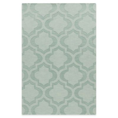 Artistic Weavers Central Park Kate 6-Foot x 9-Foot Area Rug in Light Blue
