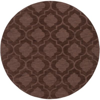 Artistic Weavers Central Park Kate 9-Foot 9-Inch Round Area Rug in Brown