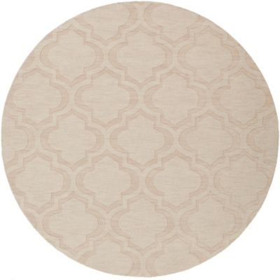 Artistic Weavers Central Park Kate 9-Foot 9-Inch Round Area Rug in Beige