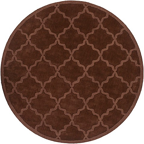 Buy artistic weavers central park abbey 6 foot round area for Where to buy round rugs