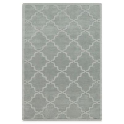 Artistic Weavers Central Park Abbey 3-Foot x 5-Foot Area Rug in Light Blue