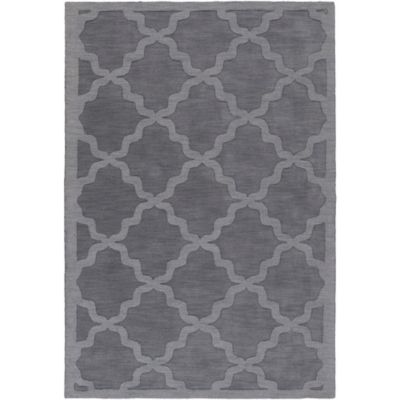 Artistic Weavers Central Park Abbey 6-Foot x 9-Foot Area Rug in Charcoal Grey