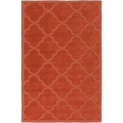 Artistic Weavers Central Park Abbey 6-Foot x 9-Foot Area Rug in Orange