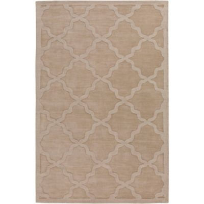 Artistic Weavers Central Park Abbey 6-Foot x 9-Foot Area Rug in Tan