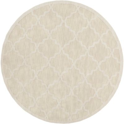 Artistic Weavers Central Park Abbey 9-Foot 9-Inch Round Area Rug in Beige