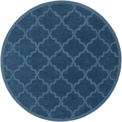 Artistic Weavers Central Park Abbey 9-Foot 9-Inch Round Area Rug in Blue