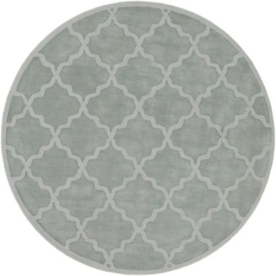 Artistic Weavers Central Park Abbey 9-Foot 9-Inch Round Area Rug in Light Blue