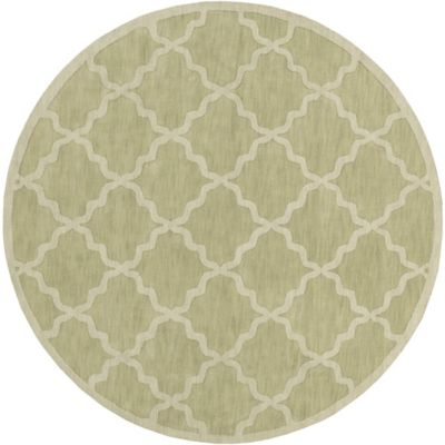 Artistic Weavers Central Park Abbey 9-Foot 9-Inch Round Area Rug in Sage