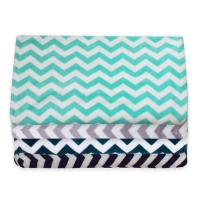 Aqua Throw Blanket