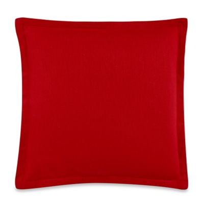 Monique 18-Inch x 18-Inch Throw Pillow in Red