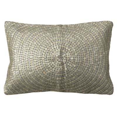 Trance 24-Inch x 14-Inch Throw Pillow in Grey